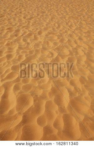 Full frame photo of sand dune desert background