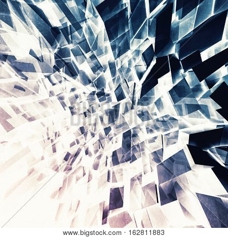 3D Chaotic Shining Background