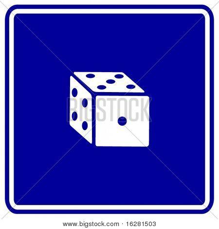dice sign