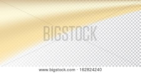 Gold White Transparent Background
