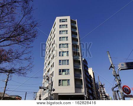 Office Buildings Located In Tokyo, Japan