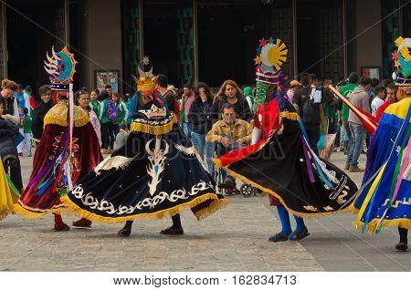 Fiesta Patronal San Juan Diego Cuauhtlatoatzin In Mexico City