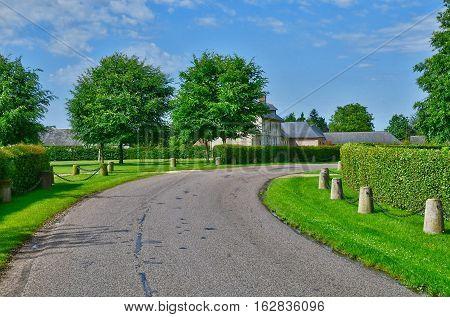Bois Heroult France - june 23 2016 : the picturesque village