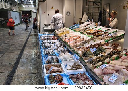 Fish Market In Uk
