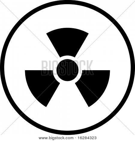 radio active symbol