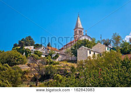 Nerezisca Village Landmarks On Brac Island