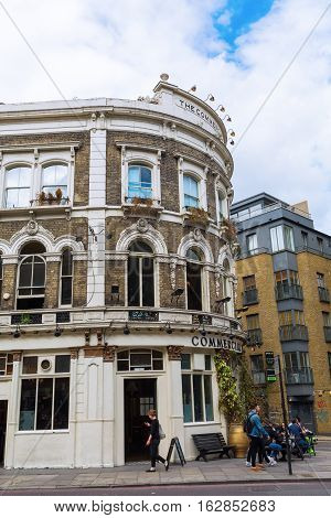 Pub At Commercial Street In Tower Hamlets, London