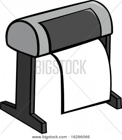 large format printer or plotter