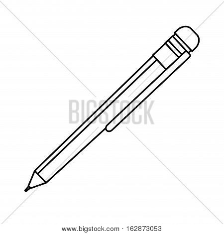 Isolated ballpoint pen icon vector illustration graphic design