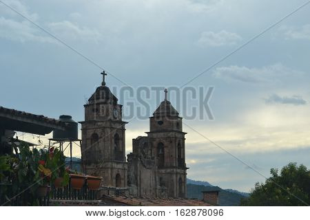 Parish of Saint Francis of Asisi in the oldest part of Valle de Bravo, Mexico