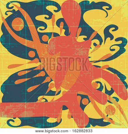 graffiti beautiful abstract background vector royalty free stock illustration