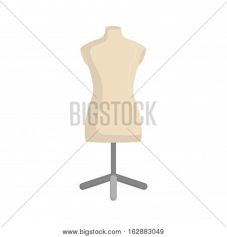 isolated mannequin body icon vector illustration graphic design
