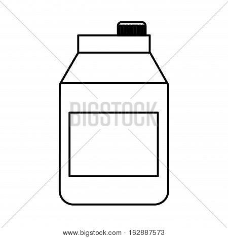 tetra pak product isolated icon vector illustration design