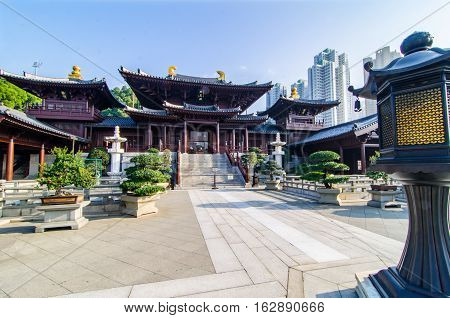 The Chi Lin Nunnery is the largest hand made wooden structure in the world.