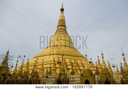 Considered the holiest site in Myanmar the Shwedagon Pagoda is thought to house the hairs of the Buddha.