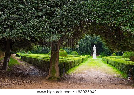 Horti Leonini in San Quirico d'Orcia Italy