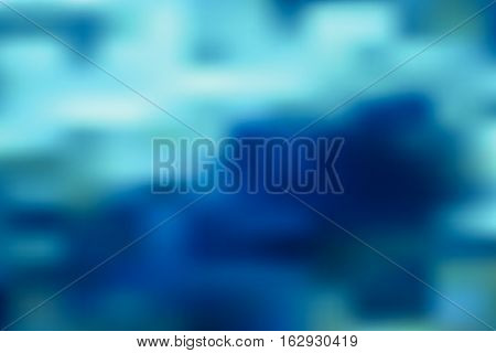 A colorful abstract ocean blur background illustration