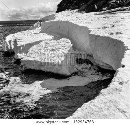 Summer In The Arctic, The Coast Of The Kara Sea.