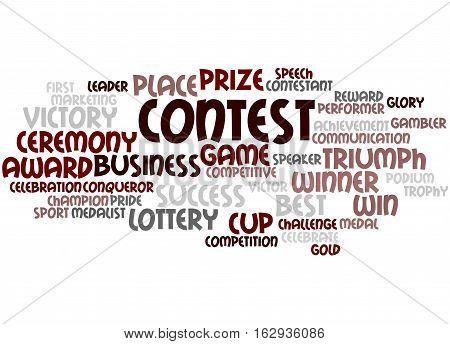 Contest, Word Cloud Concept 4