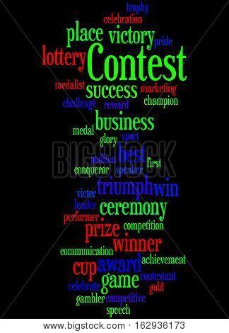 Contest, Word Cloud Concept 7