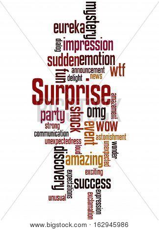 Surprise, Word Cloud Concept 6