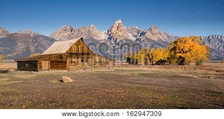 Moulton Barn in Grand Teton National Park Wyoming