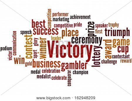 Victory, Word Cloud Concept 2