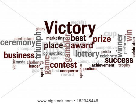 Victory, Word Cloud Concept 8