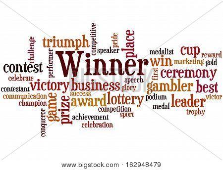 Winner, Word Cloud Concept 2