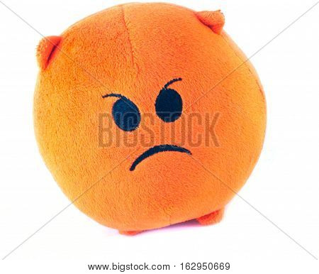 anger, orange, red, round, toothed, ro-rare, fluffy,