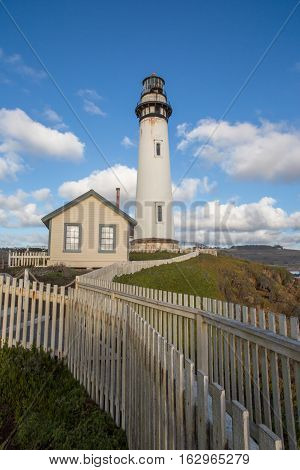 Pigeon Point Light Station State Historic Park, Pescadero, California, USA