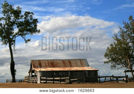 Old Shed On A Hill