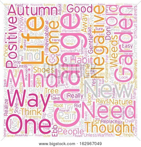 A Change will do you Good text background wordcloud concept