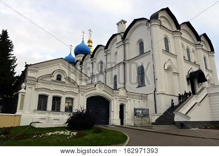 Annunciation Cathedral in Kazan Kremlin. Kazan Russia