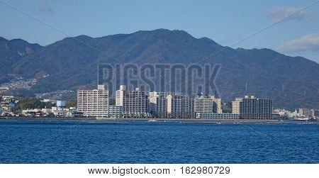 Hiroshima Bay View From Miyajima Island