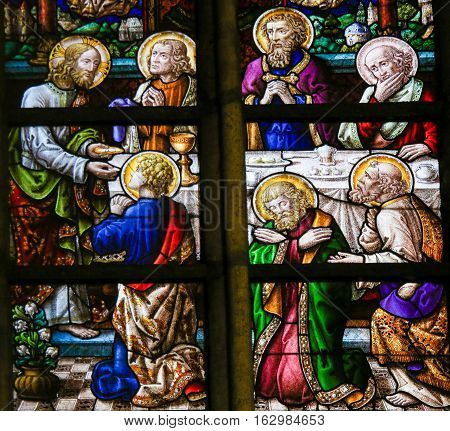 Stained Glass - Last Supper