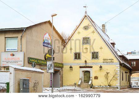 Hotel Seegi Maja In Parnu, Estonia
