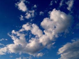 Dark Sky And Clouds