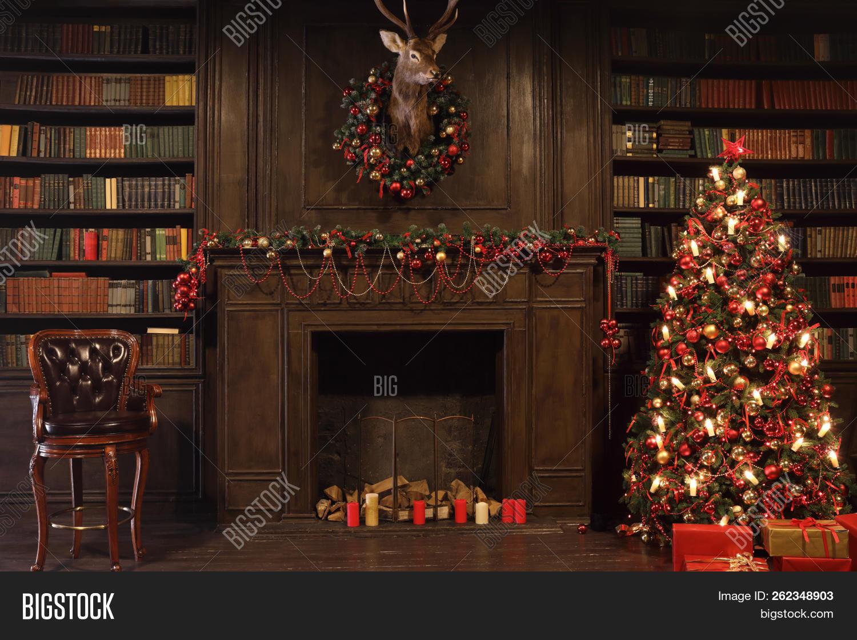 Christmas Interior Image Photo Free Trial Bigstock