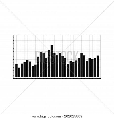 Bar Graph And Line Graph Templates, Business Infographics, Vector Illustration. Graphs And Charts Se