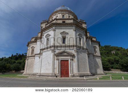The Tempio Di Santa Maria Della Consolazione In Todi, Umbria, Italy