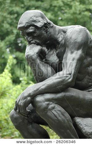 The Thinker in Ueno Park, Tokyo