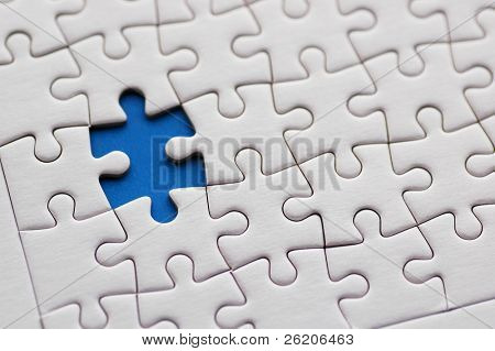 Jigsaw Puzzle Abstract Background