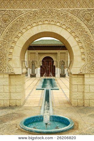 Moroccan Pavilion in Malaysia
