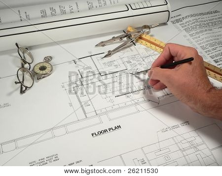 Architecture Drawings and Equipment