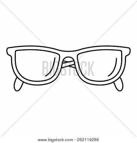 Accounting Glasses Icon. Outline Illustration Of Accounting Glasses Vector Icon For Web Design Isola