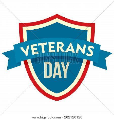 Parade Veterans Day Logo. Flat Illustration Of Parade Veterans Day Vector Logo For Web Design