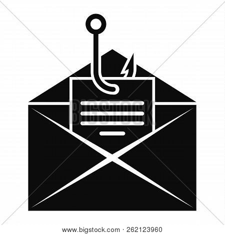 Phishing Personal Mail Icon. Simple Illustration Of Phishing Personal Mail Vector Icon For Web Desig