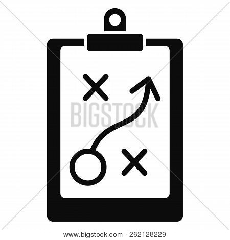 Decision Strategy Icon. Simple Illustration Of Decision Strategy Vector Icon For Web Design Isolated