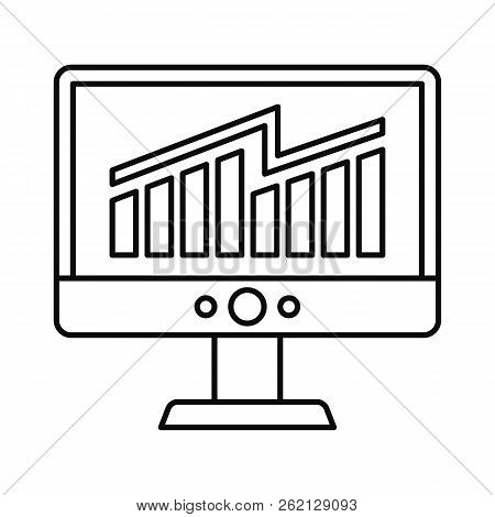 Solving Business Strategy Icon. Outline Illustration Of Solving Business Strategy Vector Icon For We